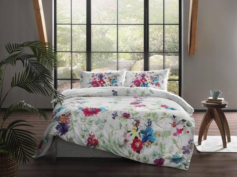 Антибактериальный комплект постельного белья Ранфорс 2-спальный