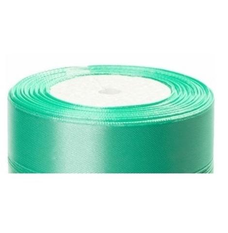 Лента атласная (размер:25мм х 25 ярдов) Цвет:светло-зеленый_1