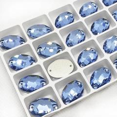 Купите стразы пришивные Oval Light Blue, Овал Лайт Блю, светло-синие на StrazOK.ru