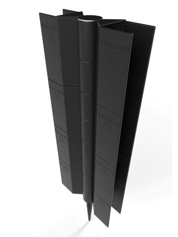 Угловой поворотный элемент для грядок высотой 300 мм