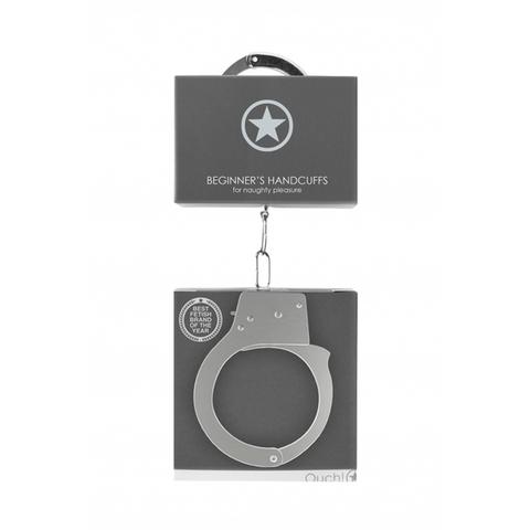 Shots Металлические наручники Beginner's Handcuffs