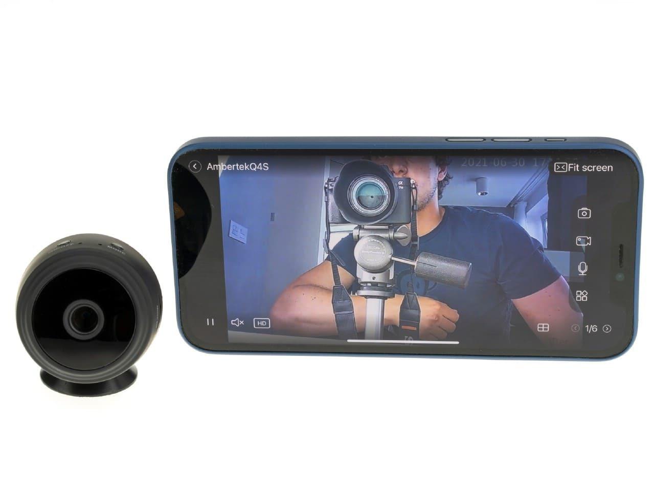 Wi-Fi IP мини камера Ambertek Q4S