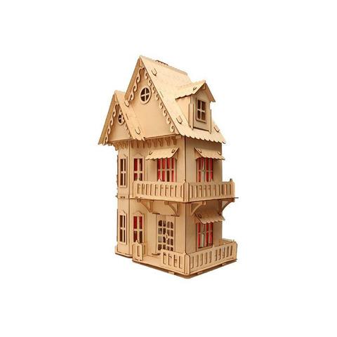Кукольный домик, 3-этажный