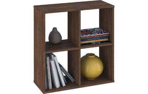 Стеллаж Polini Home Smart Кубический 4 секции, винтаж