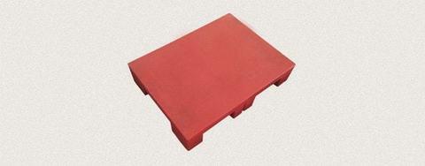 Поддон пластиковый 800x600x150 мм. Цвет: Красный