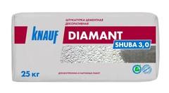 Цементная штукатурка декоративная Knauf Диамант Шуба 3.0, 25 кг