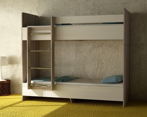 Кровать двухъярусная ДАЙСЕН  левая 1600-800 /1632*1604*952/