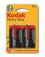 Батарейки Kodak R20, D (2/24) BL