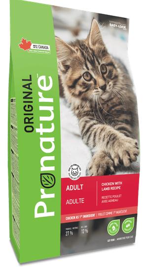 Сухой корм Корм для взрослых кошек, Pronature Original Cat Adult, с курицей и ягненком Pronature_Original_сухой_корм_для_кошек__курицаягнёнок.png