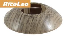 Обвод для труб Rico Leo Дуб английский d- 16 мм (2шт)