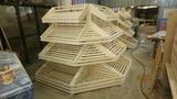 фото 2 Угловой деревянный стеллаж для хлеба Евромаркет на profcook.ru