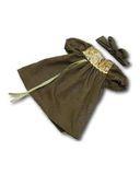 Арт. 850-25-42 -Платье из жатого шелка - Зеленый. Одежда для кукол, пупсов и мягких игрушек.
