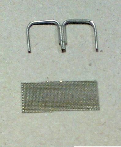 22022487 Скоба-фиксатор для шланга, сталь