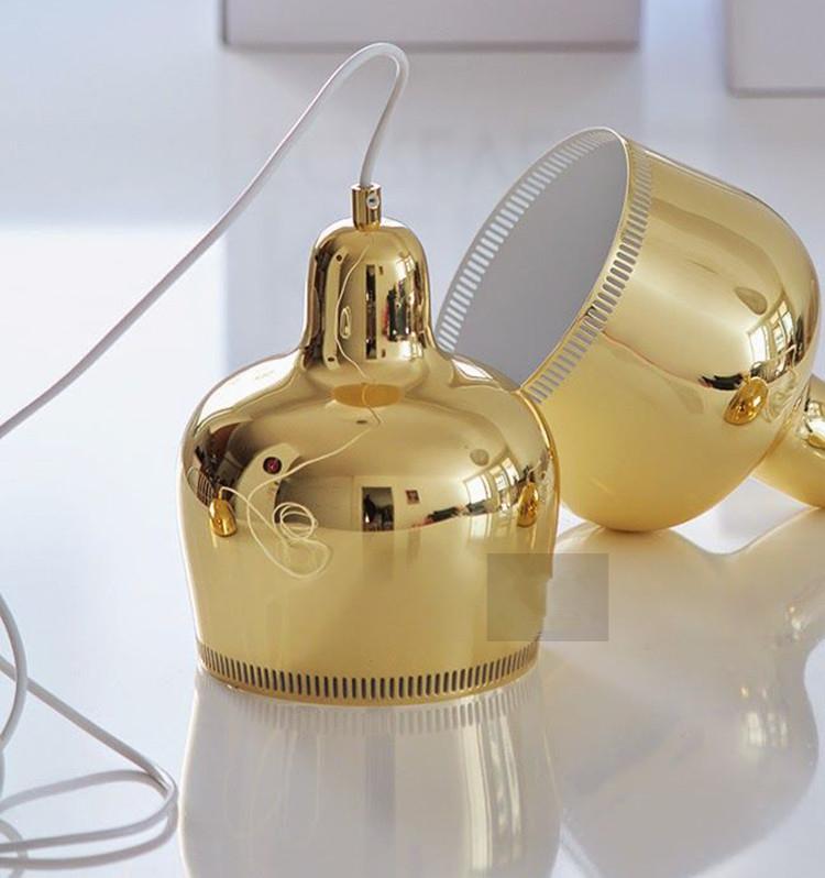 Подвесной светильник A330S Golden Bell by Artek (серебряный)