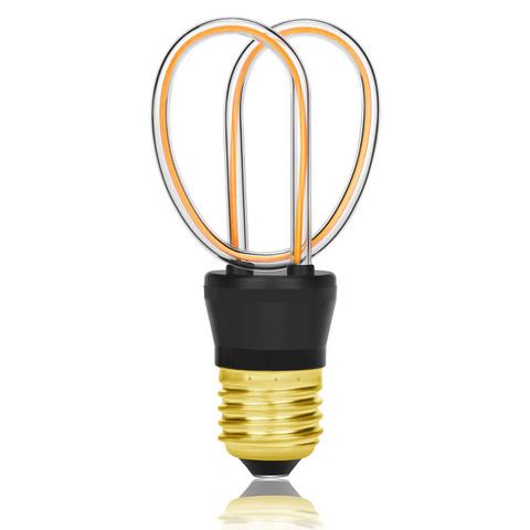 Лампа светодиодная E27 4W 2200К прозрачная