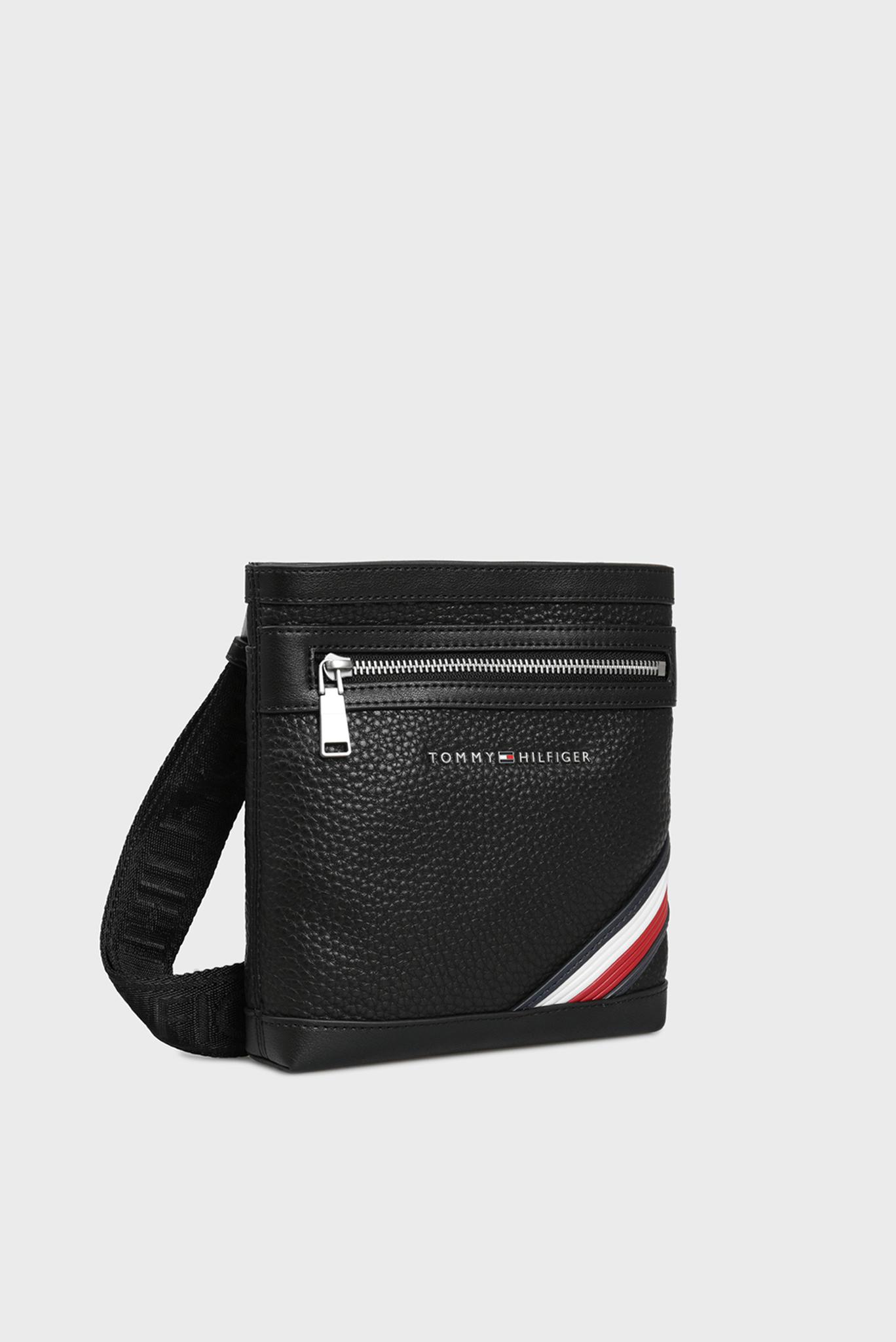 Мужская черная сумка через плечо DOWNTOWN Tommy Hilfiger