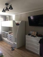 Детская Двухъярусная кроватка-трансформер, 18мм