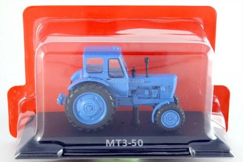 Tractor MTZ-50 1972 1:43 Hachette #1