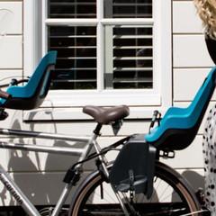 Заднее велокресло Bobike One Maxi 1Р Bahama Blue - 2