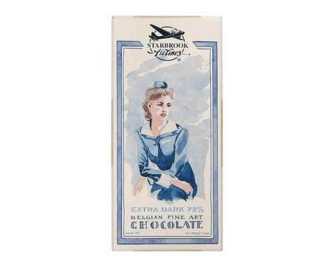 Горький шоколад Starbrook Airlines какао 72%, 100 г