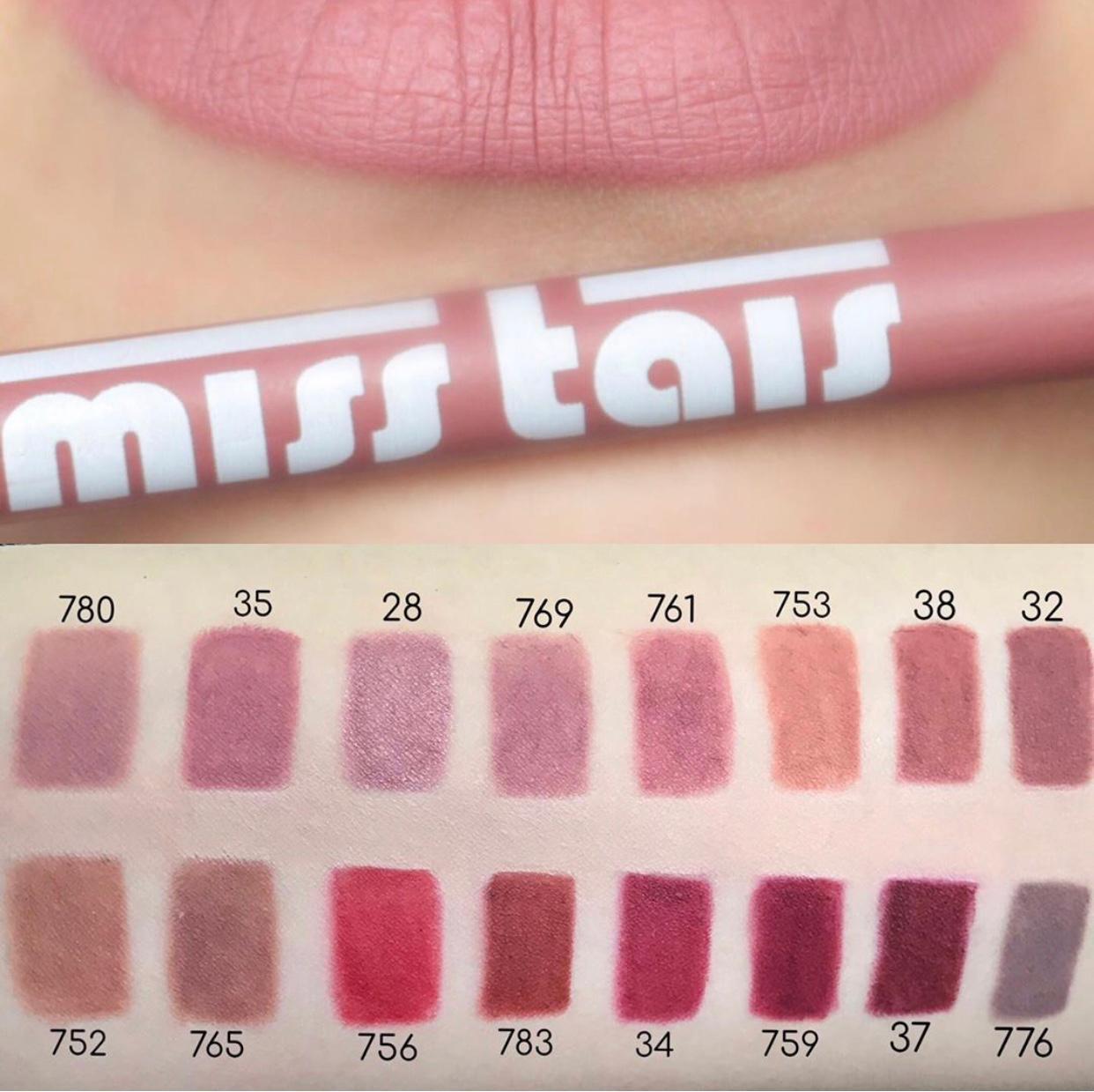 Карандаш для губ Miss Tais 38 Natural Creme