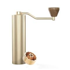 Кофемолка Timemore Slim Gold c титановыми жерновами