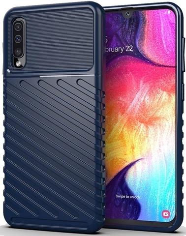 Чехол Samsung Galaxy A50 (Galaxy A30S, A50S) цвет Blue (синий), серия Onyx, Caseport