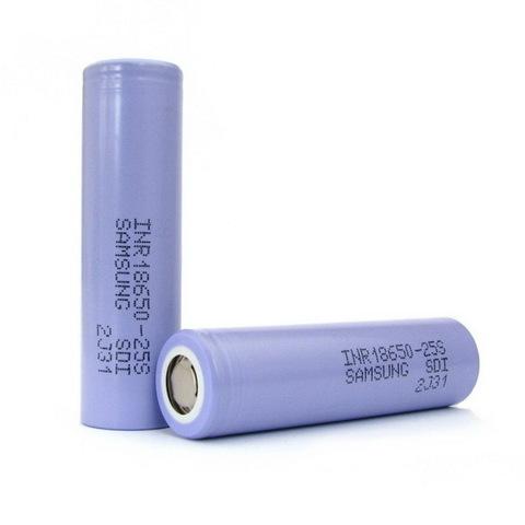 Аккумулятор 18650 Samsung 2500mAh INR18650-25S (35A)