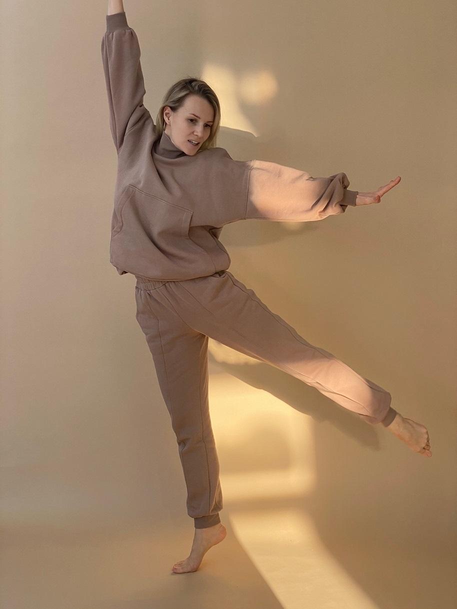 Костюм, Ballerina, TAKE AWAY (кофейный)