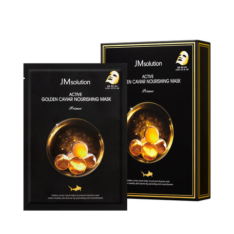 JMSOLUTION Маска с экстрактом икры JMSOLUTION Golden Caviar Nourishing Mask,30 мл.