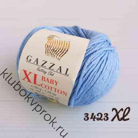 GAZZAL BABY COTTON XL 3423XL, Светлый голубой