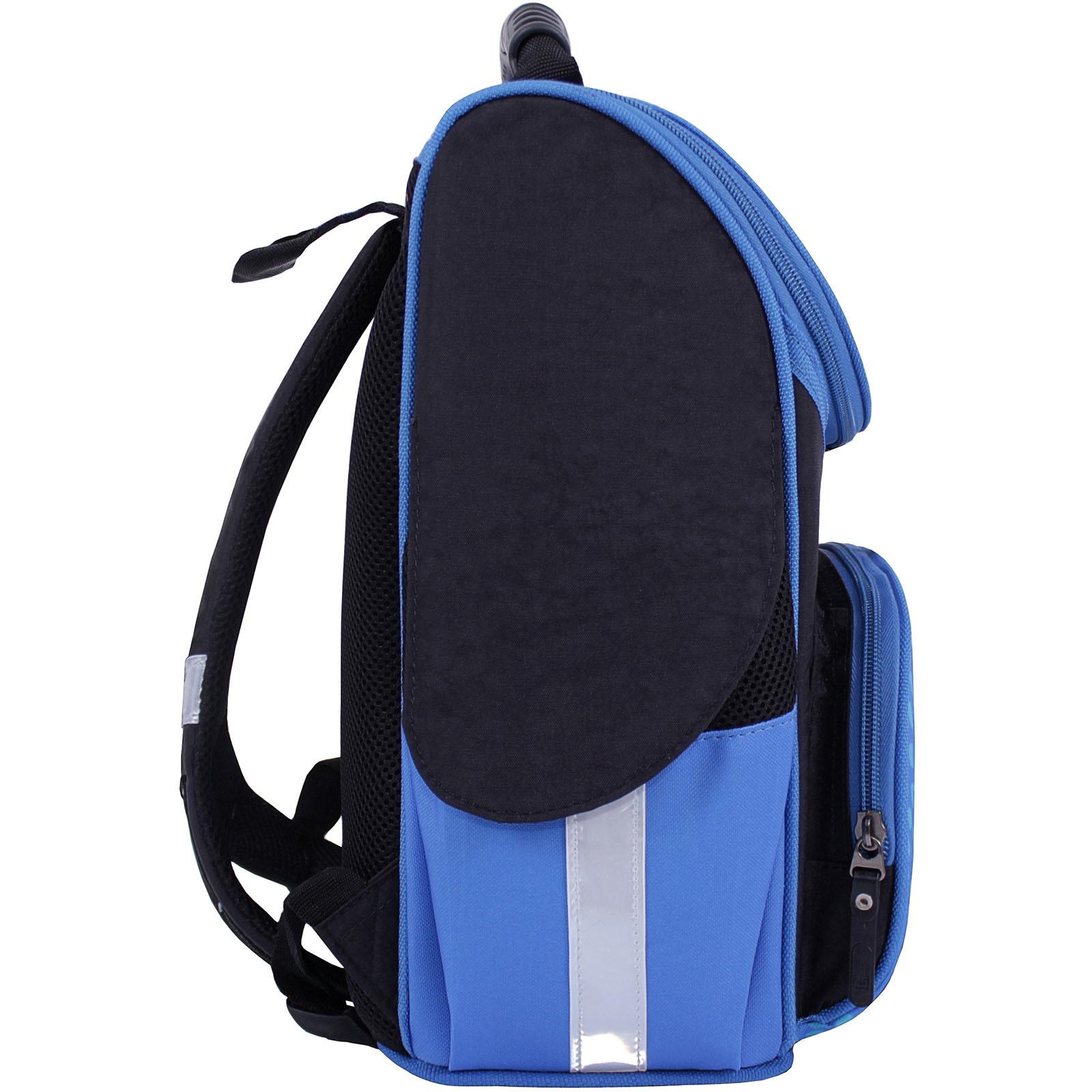 Рюкзак школьный каркасный Bagland Успех 12 л. Черный 362 (00551702) фото 2