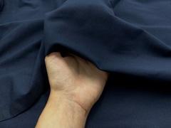 Кулирная гладь с лайкрой сине-черная (метражом)