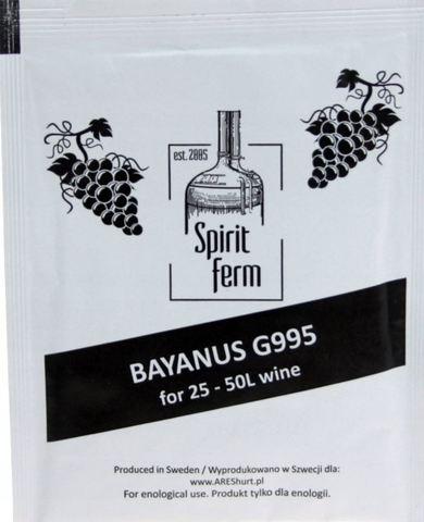 Винные Дрожжи Spiritferm Bayanus G995 25-50L вина