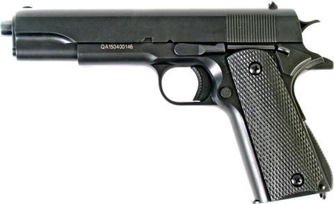 Пистолет пружинный страйкбольный М292