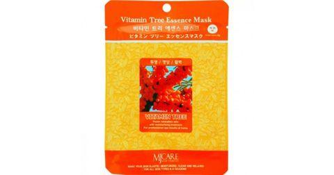 Витаминизированная маска для лица Mijin с ягодами облепихи 23 гр
