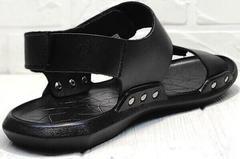 Летние сандалии босоножки без пятки Zlett 7083 Black.