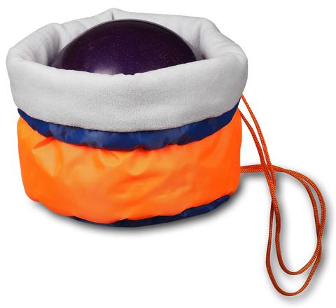 Чехол для мяча гимнастического утепленный INDIGO SM-335 Оранжевый