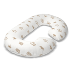 Farla. Наволочка для подушек для беременных Care C бязь Короны, вид 2