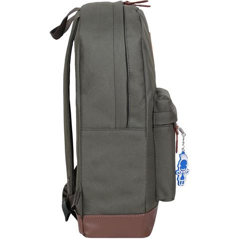 Рюкзак Bagland Молодежный (кожзам) 17 л. Хаки (00533663)