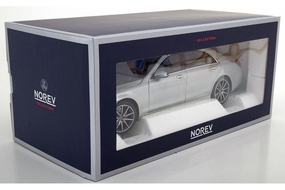 Коллекционная модель Mercedes-Benz W222 S-CLASS AMG-LINE 2018 IRIDIUM SILVER