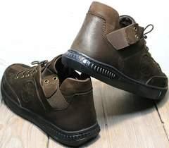 Мужские туфли спортивного стиля весна осень Luciano Bellini 71748 Brown