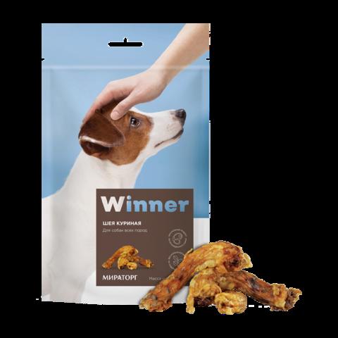 Winner лакомство для собак шеи куриные