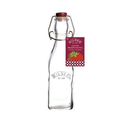 Бутылка Clip Top квадратная 250 мл