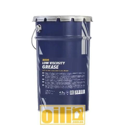 Mannol 8030 Li-EP-00/000 LOW VISCOSITY GREASE 4,5кг