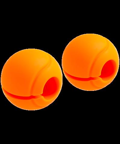 Комплект расширителей хвата BB-111, d=25 мм, сфера, оранжевый, 2 шт.