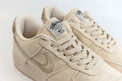 кроссовки Nike Air Force 1 Low Wmns x Stussy Fossil