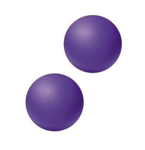 Фиолетовые вагинальные шарики без сцепки Emotions Lexy Small