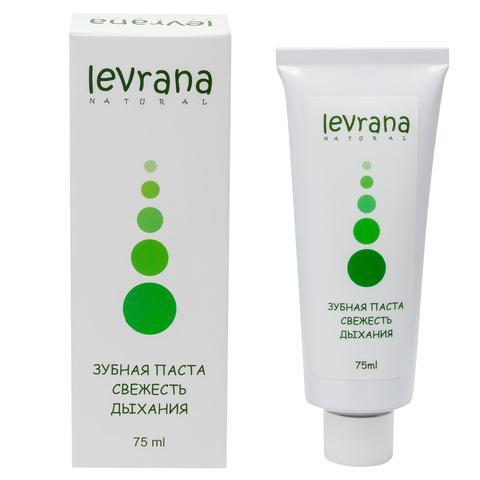 Зубная паста LEVRANA Свежесть дыхания, 75 мл.