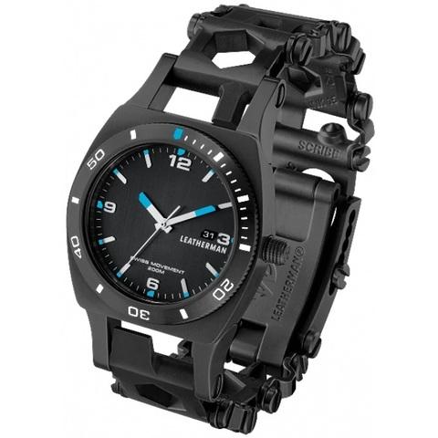 Часы Leatherman Tread Tempo LT Black (подарочная упаковка)